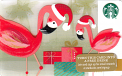 Christmas Flamingo's