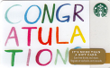 Colored Congratulations