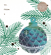 Christmas Ornament Blue